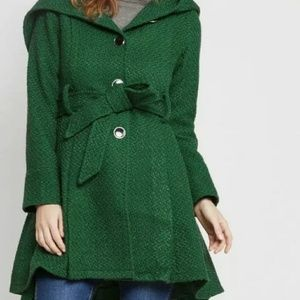 Modcloth green winter coat